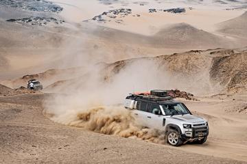 Met de Land Rover Defender door Namibië - Reportage