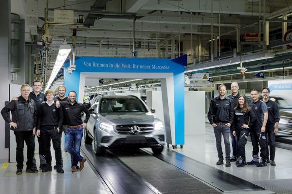 Achtmiljoen keer Mercedes-Benz uit Bremen