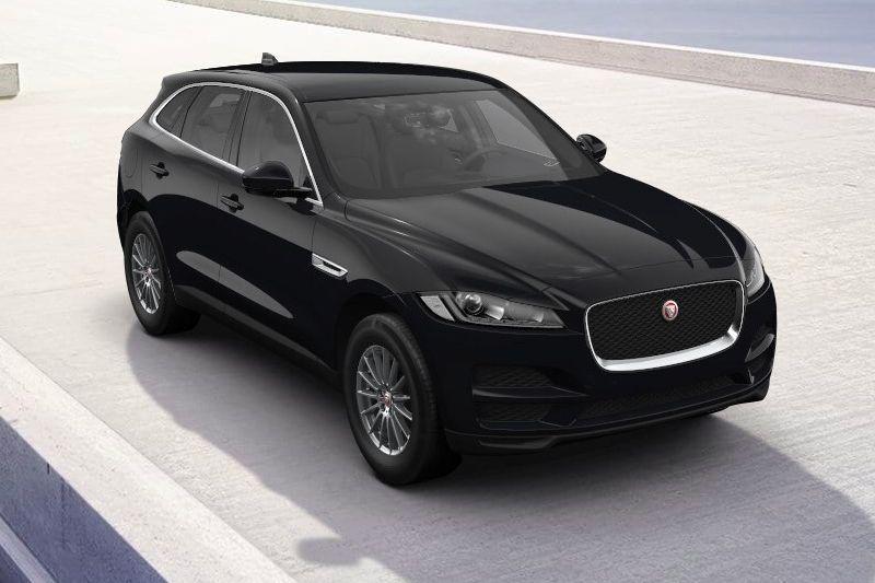 Jaguar F-Pace Pure back to basics