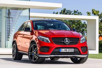 Mercedes GLE Coupé lust BMW X6 rauw