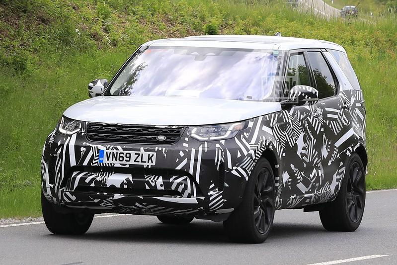 Spyshots Land Rover Discovery