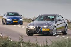 Alfa Romeo Giulia vs. Jaguar XE - Dubbeltest