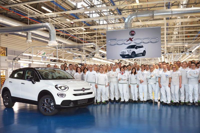 Fiat 500X 500.000 productiemijlpaal