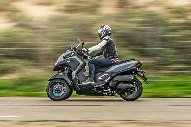 Yamaha Tricity 300 - Rij-impressie