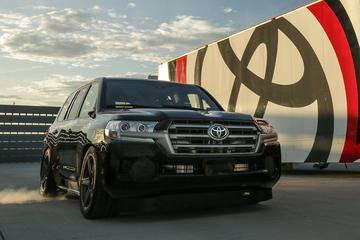 Toyota's razendsnelle Land Cruiser