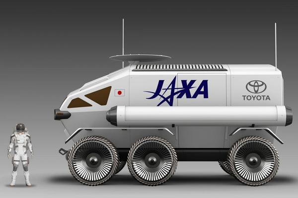 Toyota presenteert maanwagen