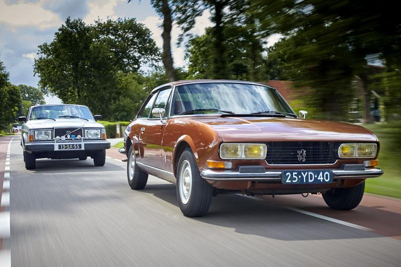 Peugeot 504 Coupe vs Volvo 262C - Classics dubbeltest