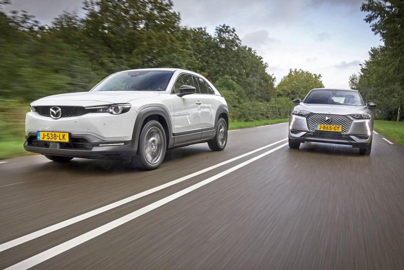 Mazda MX-30 vs. DS 3 Crossback E-Tense - Dubbeltest