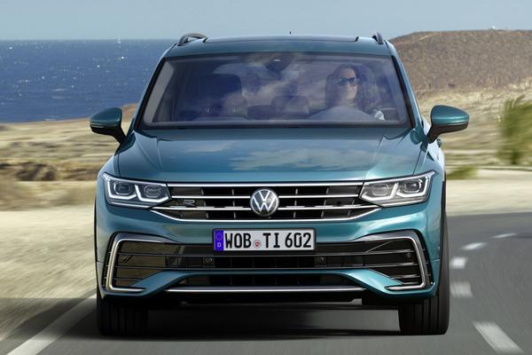 Facelift Friday: Volkswagen Tiguan (2020)