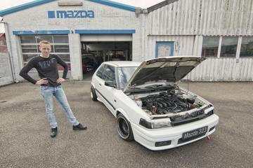 Kloppend Hart - Mazda 323