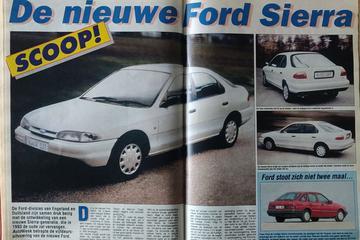 De nieuwe Ford 'Sierra' - Uit de Oude Doos