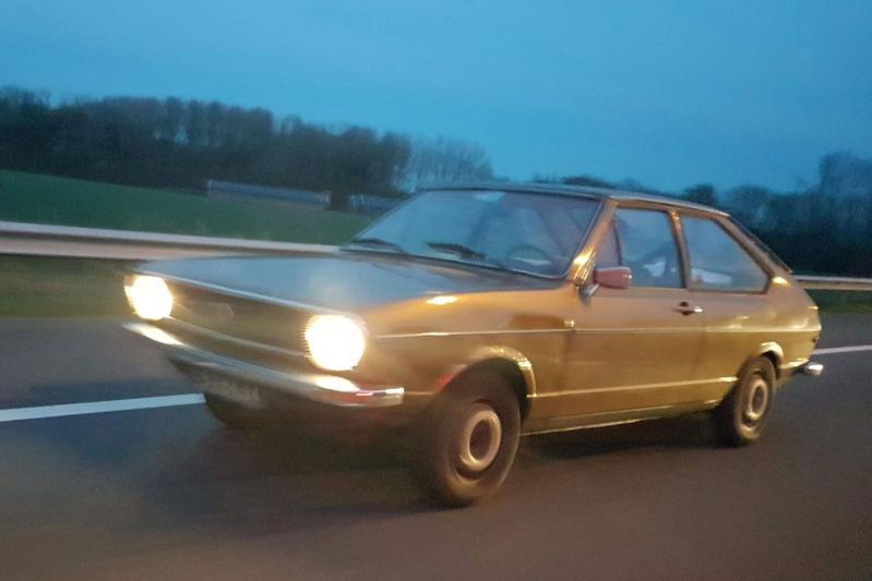 In het wild: Volkswagen Passat 1974
