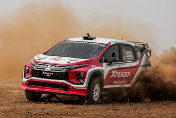 Eigenzinnige Mitsubishi Xpander als rallykanon