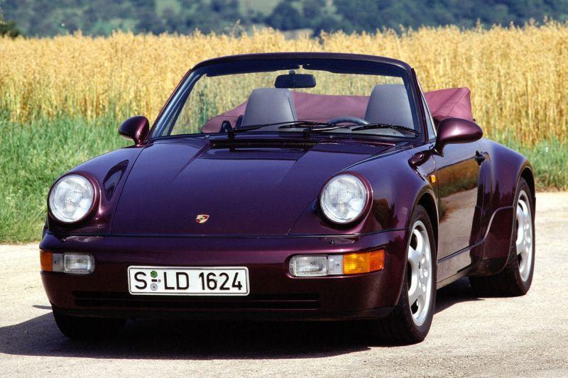 Porsche 911 Carrera 4 Cabriolet (1990)