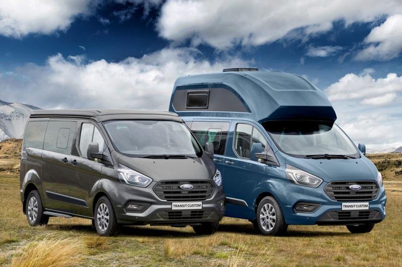 Ford Transit Nugget camper