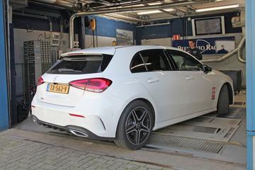 Op de Rollenbank - Mercedes-Benz A180