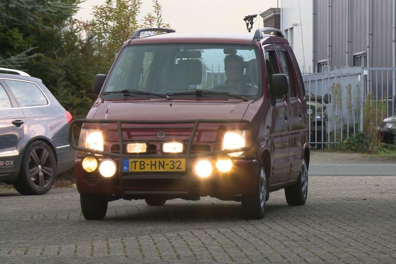 Op de rollenbank - Suzuki WagonR+