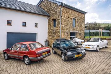 Luxemburger verzamelts Opels Corsa A