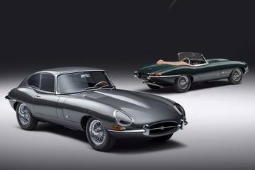 Jaguar E-type 60 Collection: historisch setje