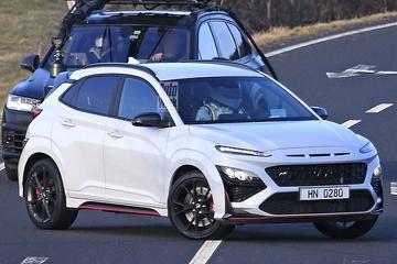 Heftige Hyundai Kona N zonder plakkers!