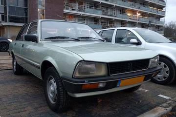 In het wild: Peugeot 505