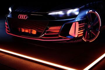 Audi warmt op voor E-tron GT