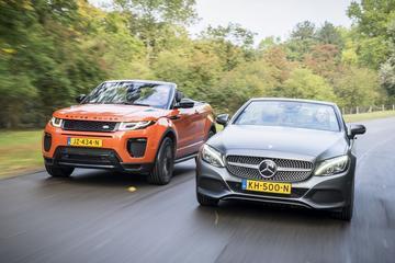 Mercedes-Benz C 250 Cabriolet vs. Range Rover Evoque Convertible