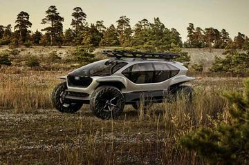 Audi AI:Trail Quattro concept onthuld