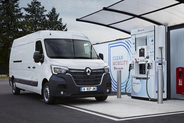 Renault introduceert waterstoftechniek in Kangoo en Master