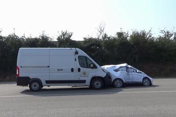 Euro NCAP test veiligheidssystemen bedrijfsauto's