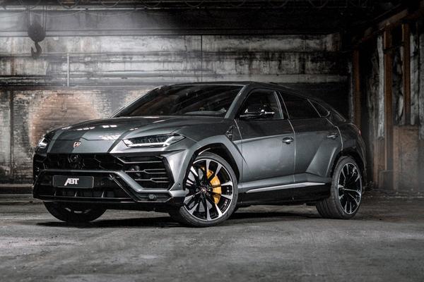 Abt vergrijpt zich aan Lamborghini Urus