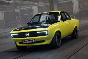 Elektrische Opel Manta GSe Elektromod is los