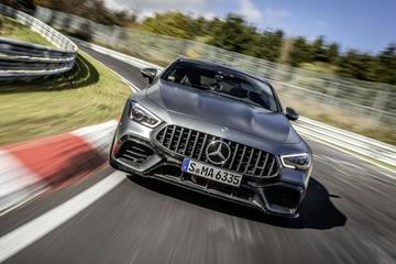 Mercedes-AMG GT 4-door pakt record Nürburgring terug