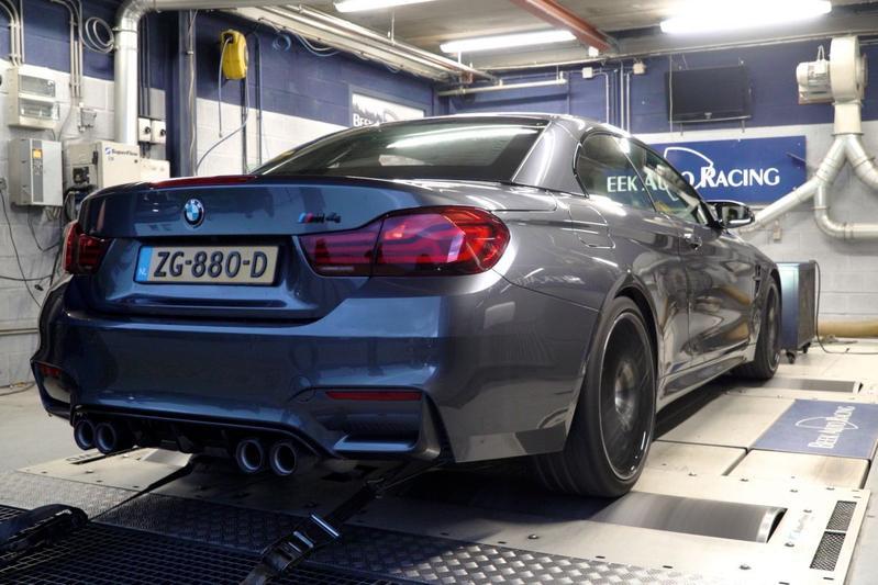 BMW M4 Competition - Op de Rollenbank