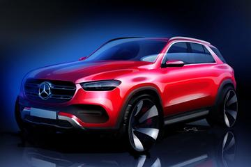 Mercedes-Benz schetst nieuwe GLE-klasse
