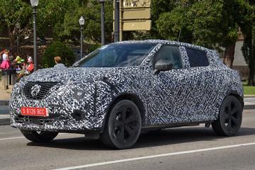 Nissan Juke verliest camouflage