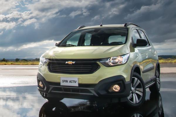 Facelift voor Chevrolet Spin