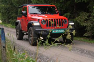 Jeep Wrangler - Rij-impressie