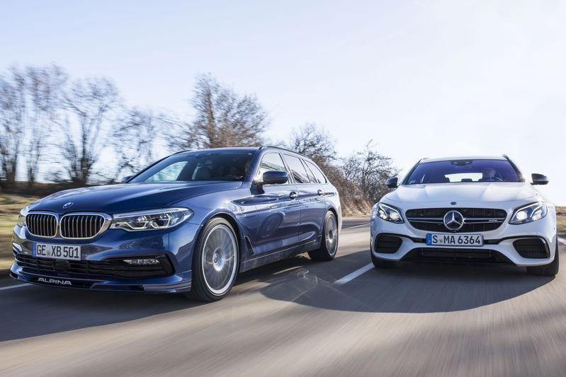 Alpina B5 Touring - Mercedes-AMG E63S Estate - Dubbeltest