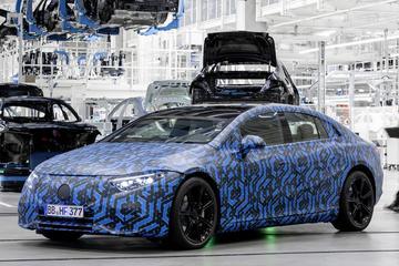 Mercedes-Benz: 'Zes nieuwe EV's tot 2022'