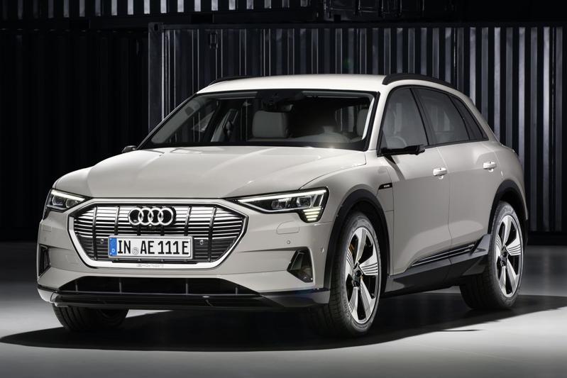 """Audi: """"Zonder Tesla was de E-tron er niet geweest"""""""