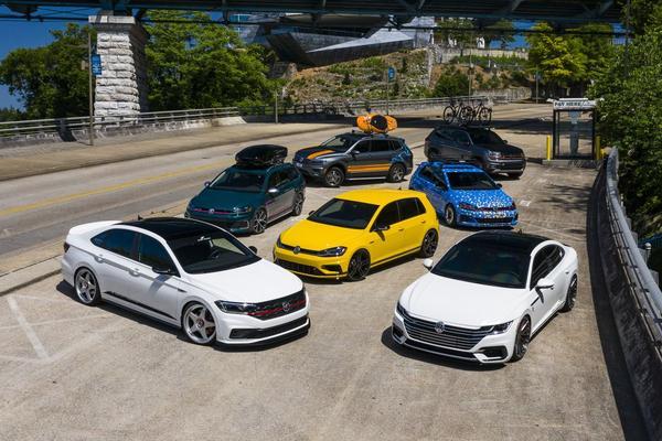 Volkswagen Amerika lanceert reeks getunede concepts