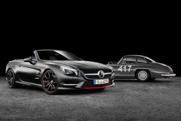 Mercedes eert Gullwing met SL Mille Miglia 417