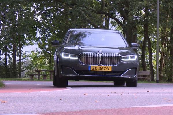 BMW 745Le - Achteruitkijkspiegel