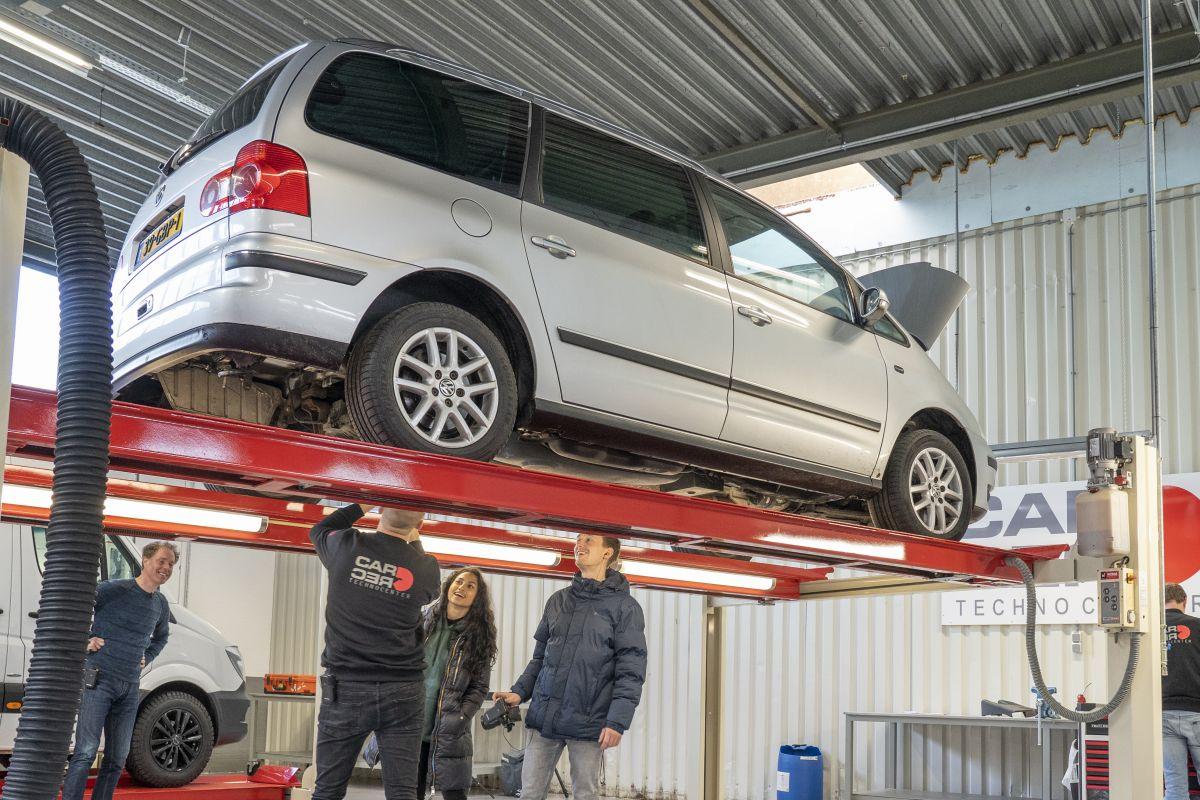 Volkswagen Sharan Klokje Rond