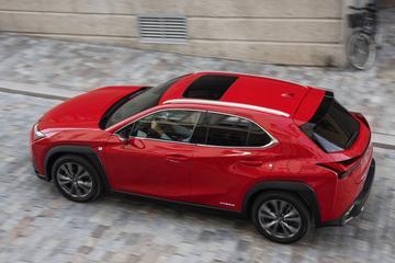 Lexus hangt prijskaartje aan UX 250h