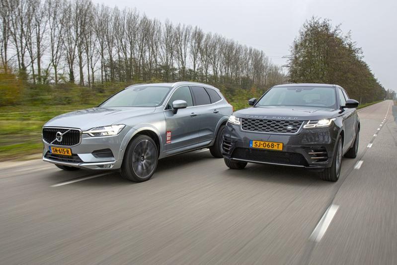 Range Rover Velar vs. Volvo XC60 - Dubbeltest