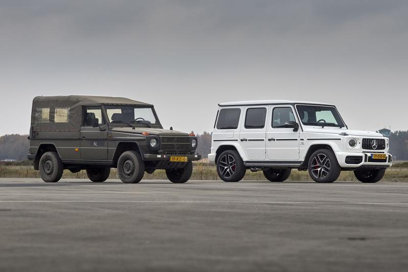 Met de Mercedes G 63 terug naar 1979 - Achtergrond