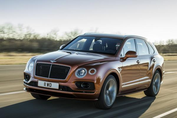 Bentley onthult Bentayga Speed