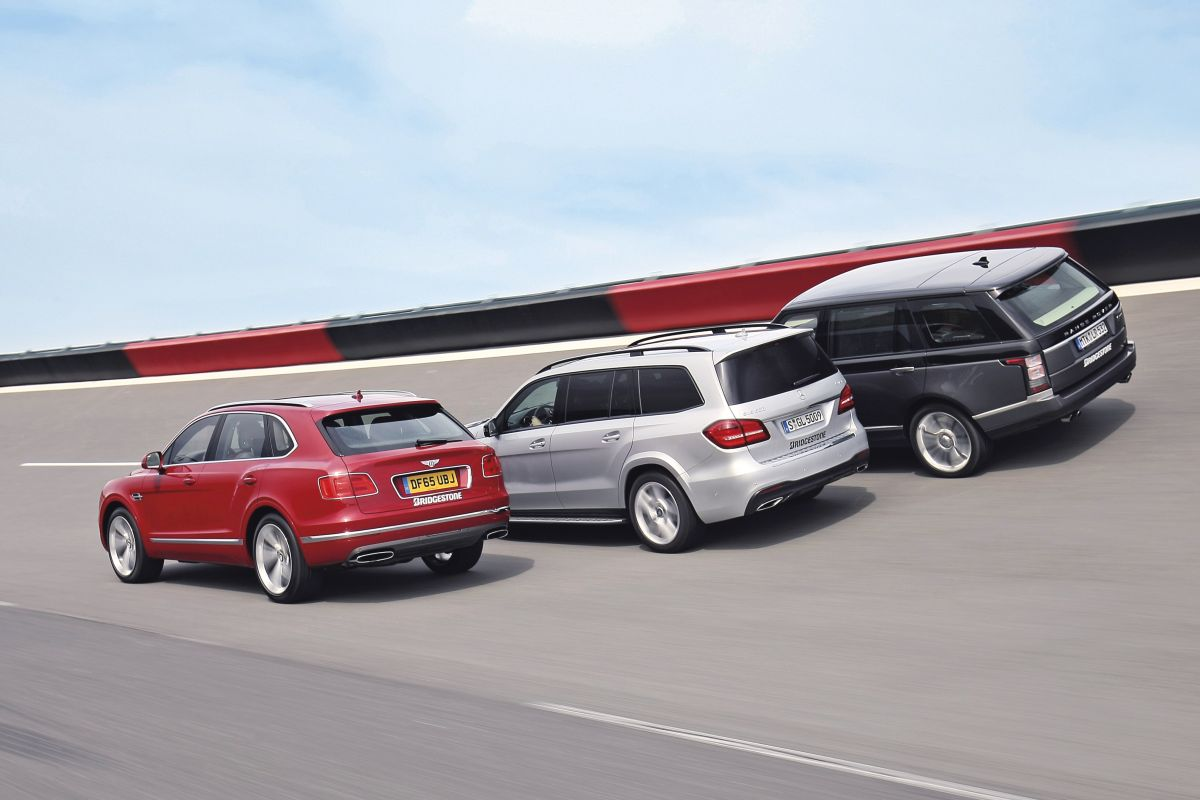 Bentley Bentayga - Mercedes GLS - Range Rover